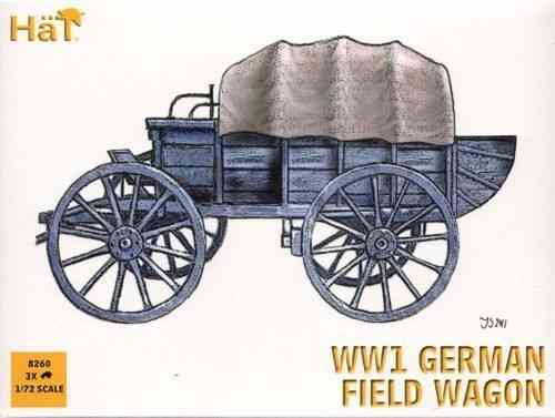 Hat WWI German Field Wagons 1/72 Scale