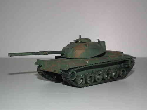 Airfix Poly Patton Tank HO/OO Scale.