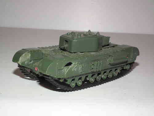 British Churchill Tank 1/76 Scale.