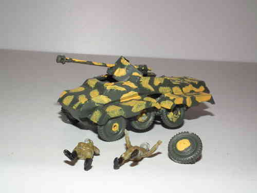 German Sdkfz 234 Armoured Car. 1/76 Scale.