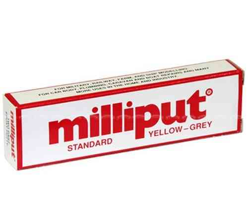Milliput Standard Yellow - Grey 113gm