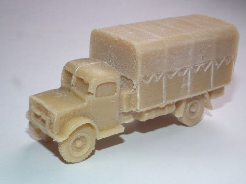 FRONTLINE WARGAMING BRITISH BEDFORD OYD 3 TON LORRY RESIN MODEL KIT