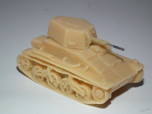 VICKERS-CARDON-LOYD 1937 PATTERN LIGHT TANK - 20MM SCALE RESIN MODEL KIT - B31
