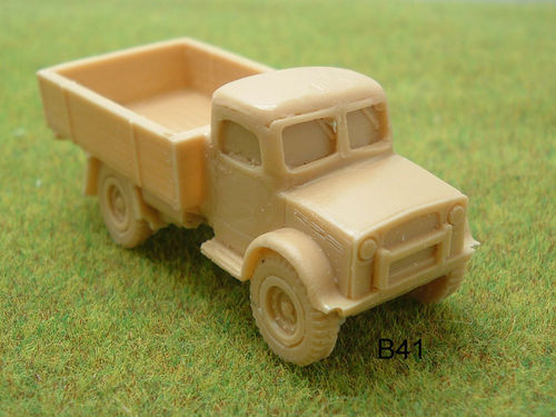 WWII BRITISH Bedford 30 cwt truck hard cab RESIN MODEL KIT - B41
