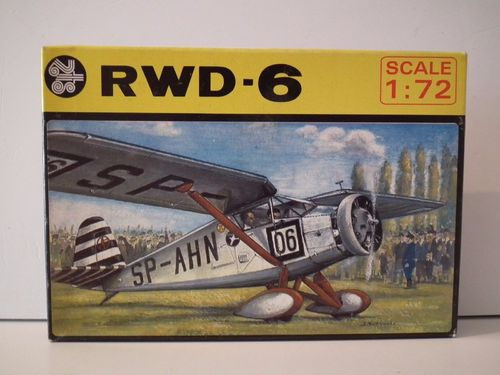 PLASTYK RWD - 6 AIRCRAFT POLAND. Model Kit. 1/72 Scale