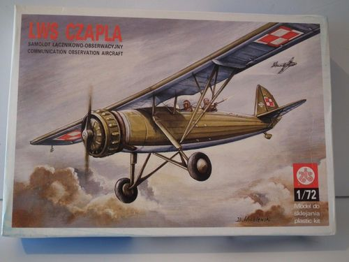 PLASTYK LWS CZAPLA WWII POLAND 1939. Model Kit. 1/72 Scale